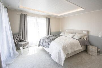Makuuhuone kohteessa Ainoakoti Feeniks, Asuntomessut 2015 Vantaa