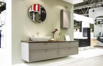 Kylpyhuone kauniissa sävyissä, Habitare 2015