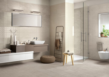 Ihanan ylellinen kylpyhuone