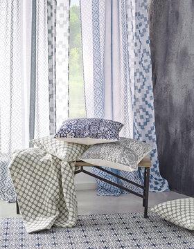 Kauniita kuvioita tekstiileissä