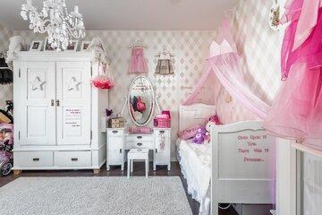 Pikku prinsessan huone