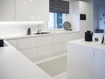 Keittiö kohteessa Cubo, Asuntomessut 2016 Seinäjoki