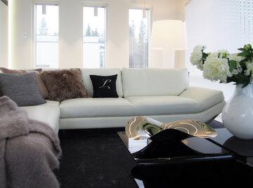 Olohuone kohteessa Lakka Lakeus, Asuntomessut 2016 Seinäjoki