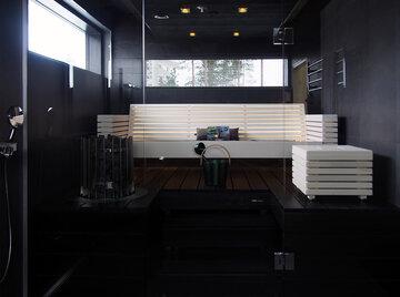 Sauna kohteessa Lakka Lakeus, Asuntomessut 2016 Seinäjoki