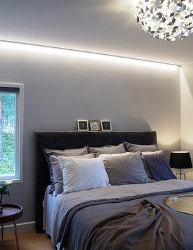 Makuuhuone kohteessa Lumiance, Asuntomessut 2016 Seinäjoki