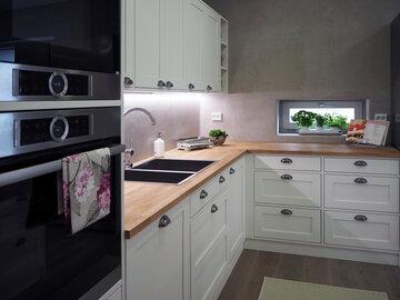 Keittiö kohteessa Nuuka, Asuntomessut 2016 Seinäjoki