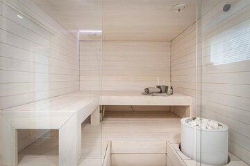 Kaunis vaalea sauna
