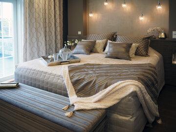 Makuuhuone kohteessa Villa Tango, Asuntomessut 2016 Seinäjoki