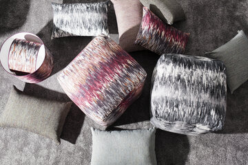 Kauniita kuviollisia tekstiilejä