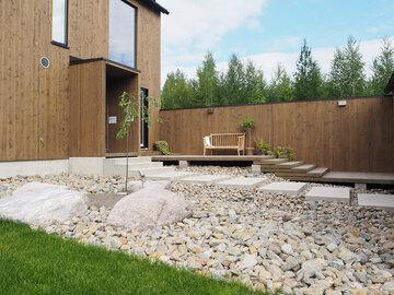 Piha kohteessa Kotola, Asuntomessut 2016 Seinäjoki