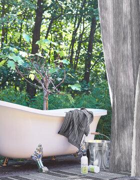 Raikasta raitaa kylpyhuoneen tekstiileissä