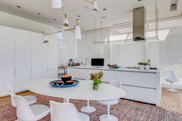 Tyylikäs avonainen keittiö