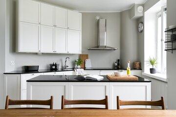 Kaunis ja klassinen keittiö