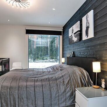 Moderni makuuhuone 7615471