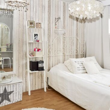 Maalaisromanttinen makuuhuone 9407950