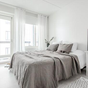 Skandinaavinen makuuhuone 9578447