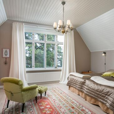 Perinteinen makuuhuone