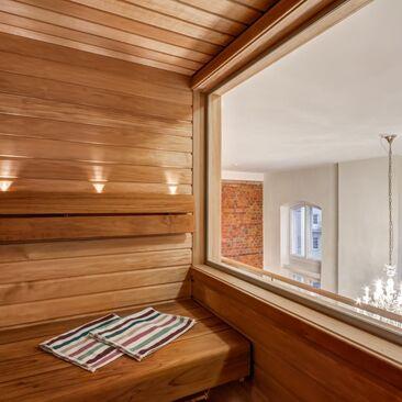 Sauna, joka ei sovi korkeita paikkoja kammoaville