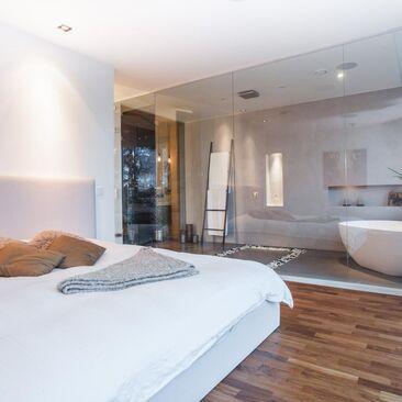 Ihana spa makuuhuoneen yhteydessä