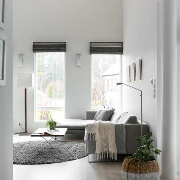 Kaunis moderni olohuone