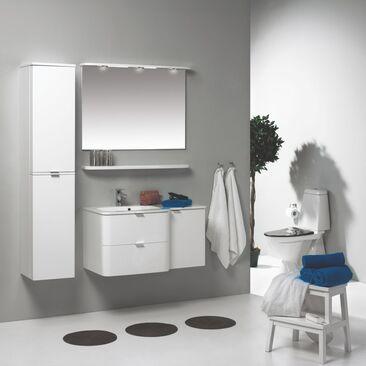 Tyylipuhdasta modernismia kylpyhuoneen sisustuksessa