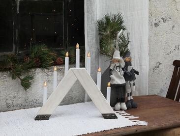 A-mallinen, modernimpi versio joulunajan kyntteliköstä
