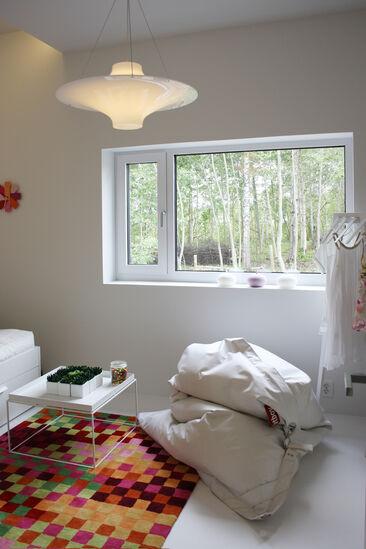 Makuuhuone kohteessa Talo Luck, Asuntomessut 2014 Jyväskylä