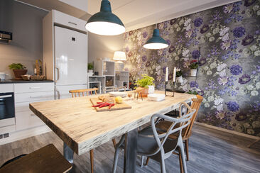 Keittiö kohteessa Spinelli A2, Asuntomessut 2015 Vantaa
