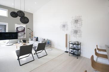 Olohuone kohteessa Designer 167, Asuntomessut 2015 Vantaa