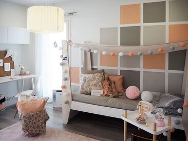 Lastenhuone kohteessa Hartmankoti Salmiakki, Asuntomessut 2016 Seinäjoki