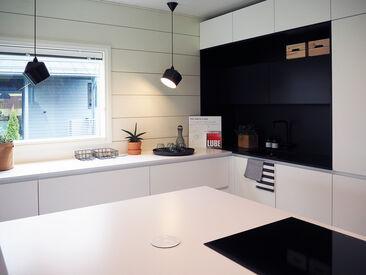 Keittiö kohteessa Honka Markki, Asuntomessut 2016 Seinäjoki