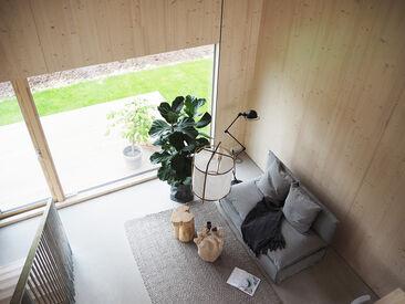Olohuone kohteessa Kotola, Asuntomessut 2016 Seinäjoki