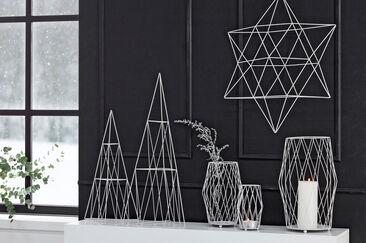 Modernit ja ilmavat versiot joulukoristeista