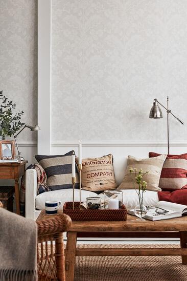 Uuden-Englannin tyyliä olohuoneessa