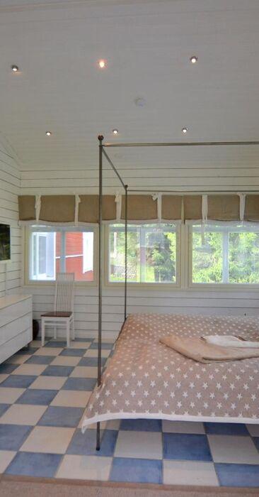 Maalaisromanttinen makuuhuone 1136077