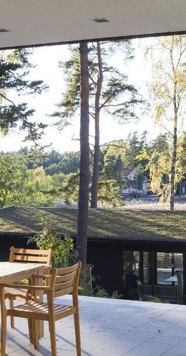 Skandinaavinen terassi