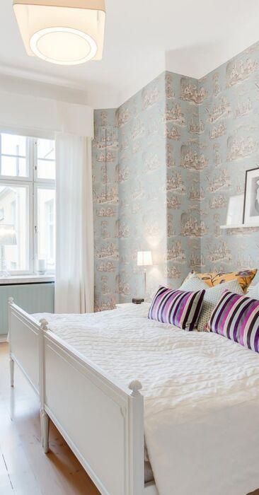 Skandinaavinen makuuhuone 9695570