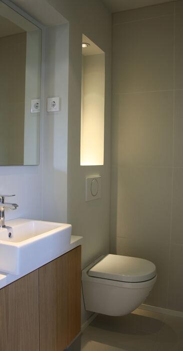 WC kohteessa Passiivikivitalo Leija, Asuntomessut 2014 Jyväskylä