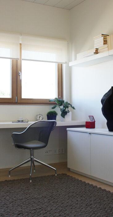 Työhuone kohteessa 10 Kannustalo Lato, Asuntomessut 2014 Jyväskylä