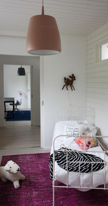 Lastenhuone kohteessa Villa Muurame, Asuntomessut 2014 Jyväskylä