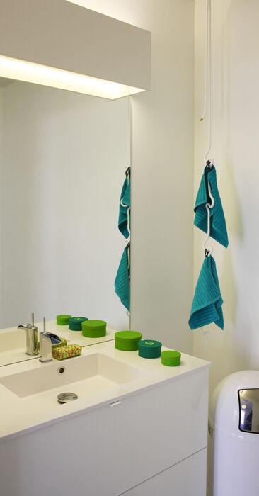 Kylpyhuone kohteessa Talo Luck, Asuntomessut 2014 Jyväskylä