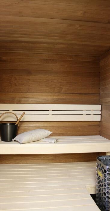 Sauna kohteessa Noppakoti A, Asuntomessut 2014 Jyväskylä