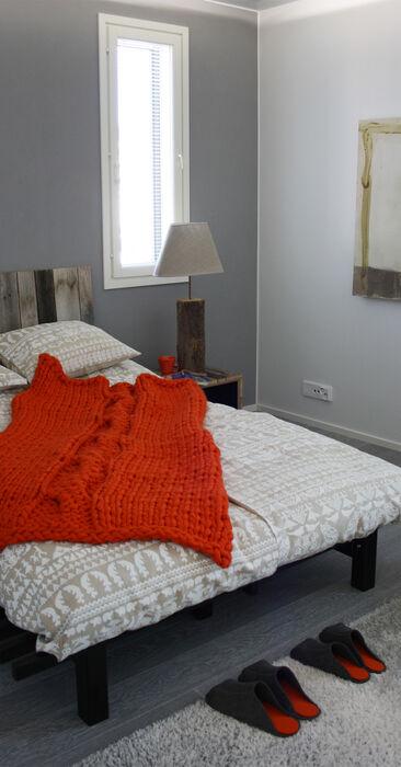 Makuuhuone kohteessa Deko, Asuntomessut 2014 Jyväskylä