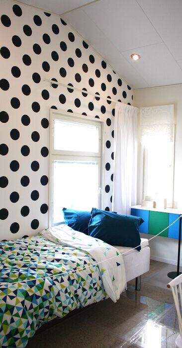 Lastenhuone kohteessa Lapplin Duo, Asuntomessut 2014 Jyväskylä