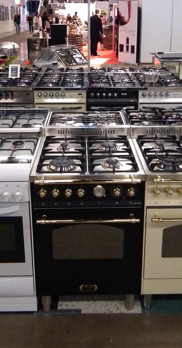 Tyyliä keittiöön klassisella kaasuhellalla, Habitare 2014