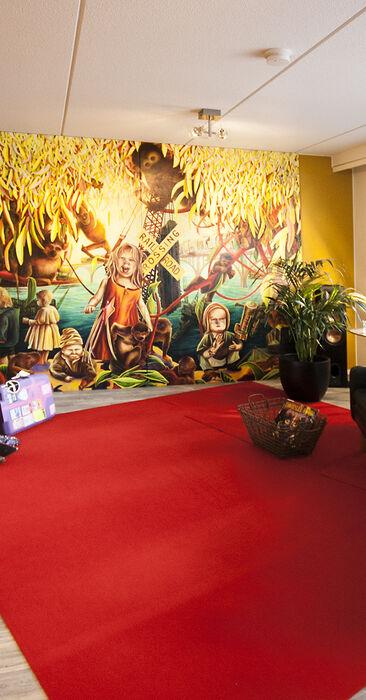 Olohuone kohteessa Spinelli A1, Asuntomessut 2015 Vantaa