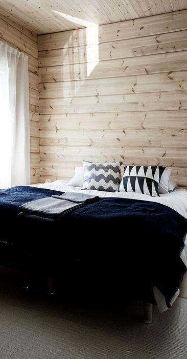 Makuuhuone kohteessa Kontio Harunire, Asuntomessut 2015 Vantaa