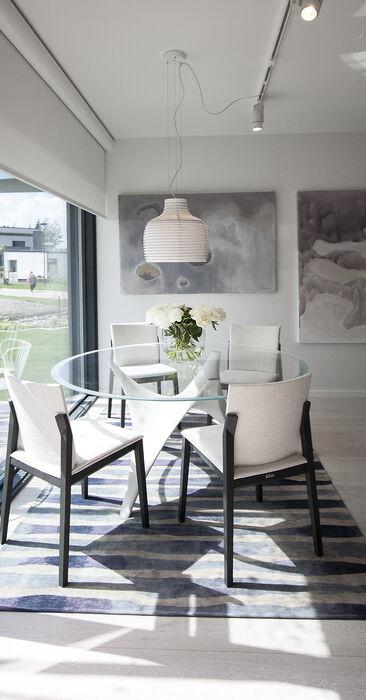 Ruokailutila kohteessa Urban Villa 1, Asuntomessut 2015 Vantaa