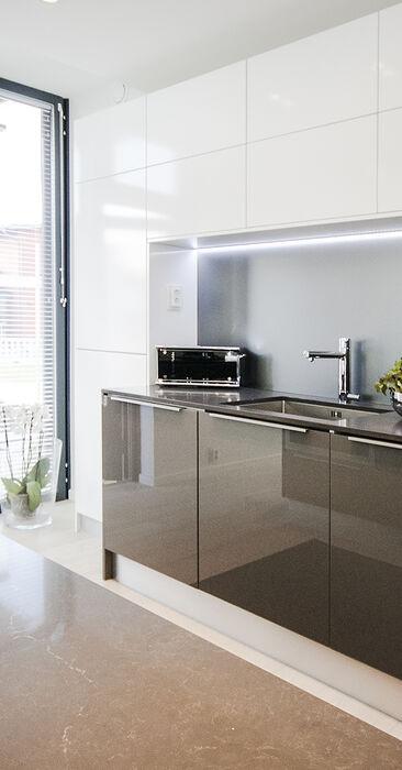 Keittiö kohteessa Urban Villa 1, Asuntomessut 2015 Vantaa