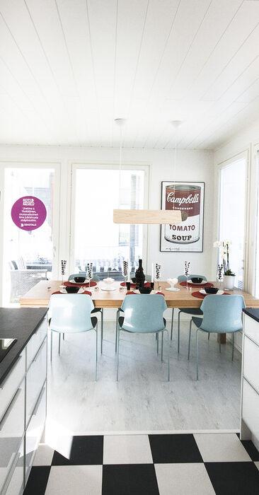 Keittiö kohteessa Deko 192, Asuntomessut 2015 Vantaa